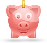 Bank pig icon