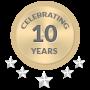 10 years trademarks
